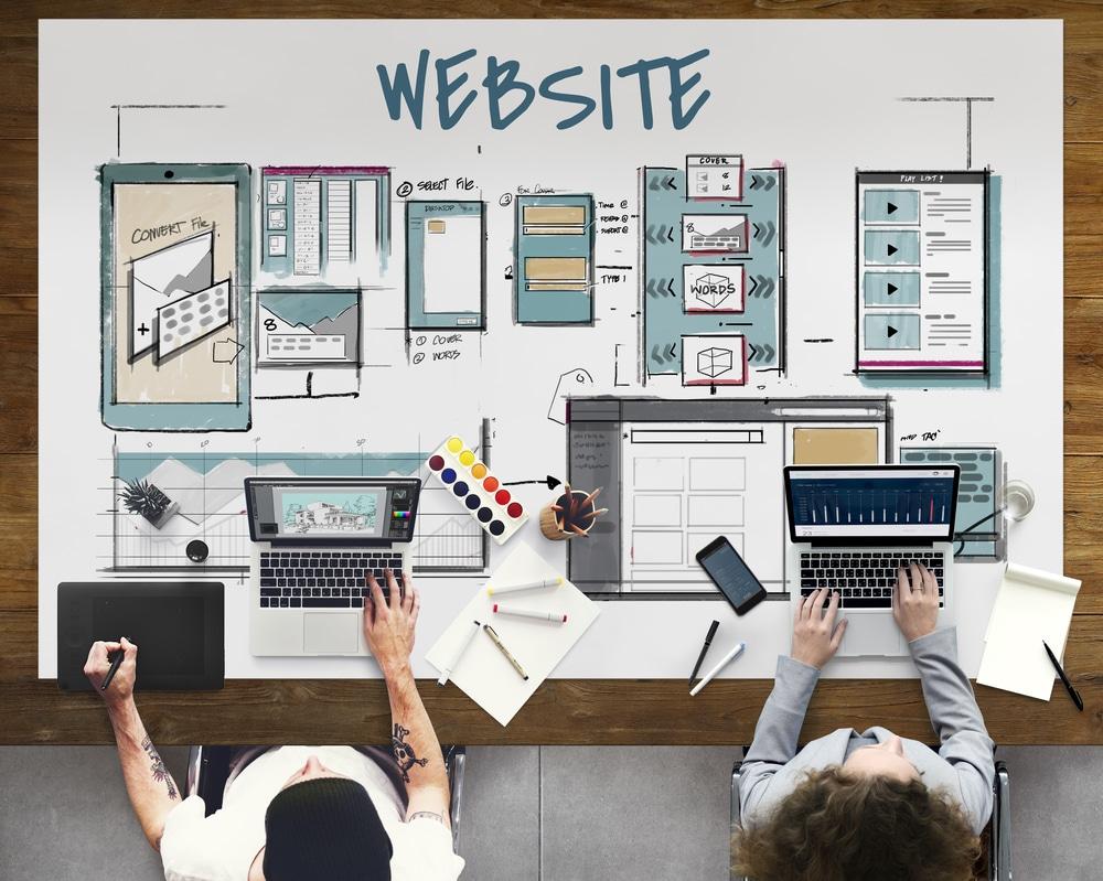 خدمة تصميم المواقع الالكترونية