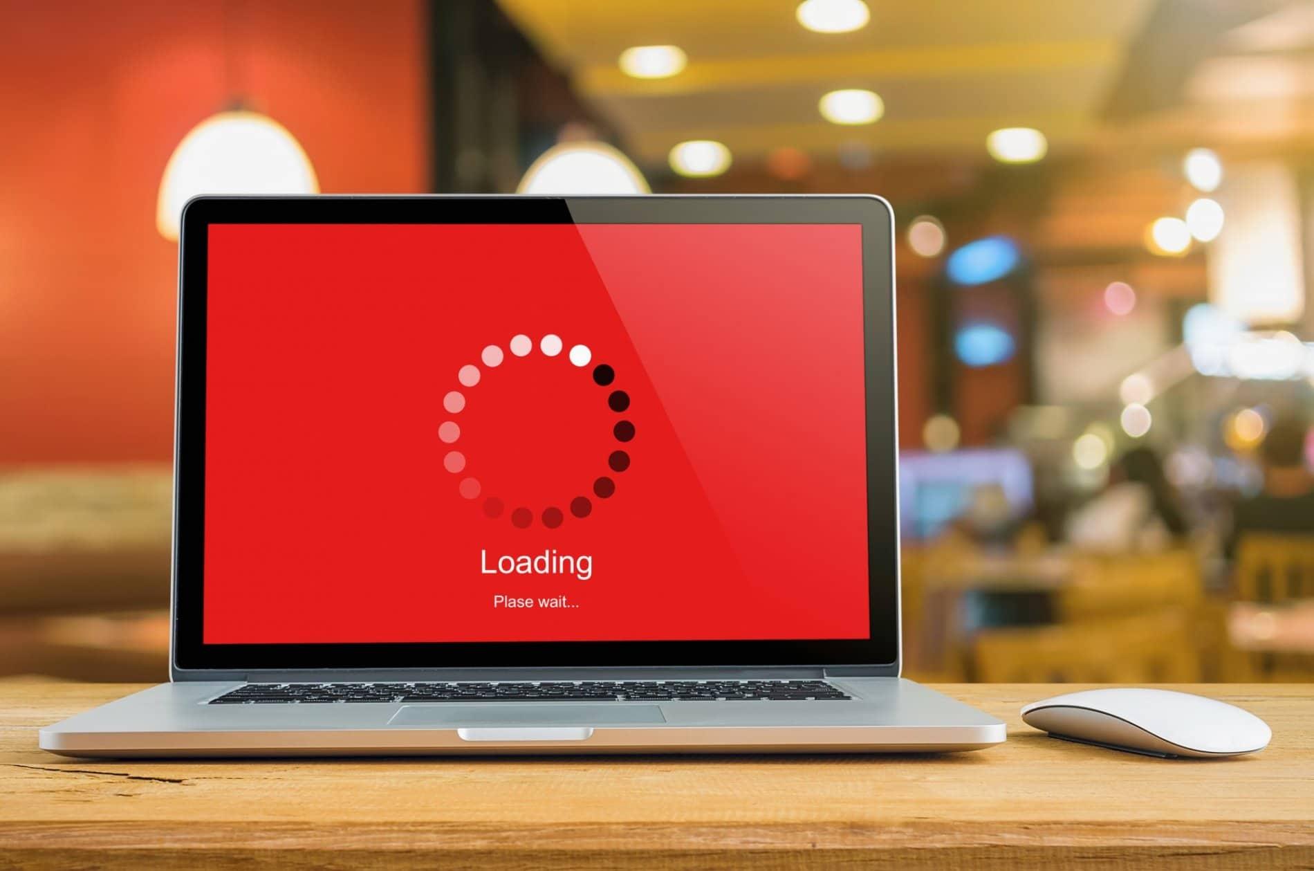 البطئ في عملية التحميل كسبب لـ اعادة تصميم مواقع الانترنت