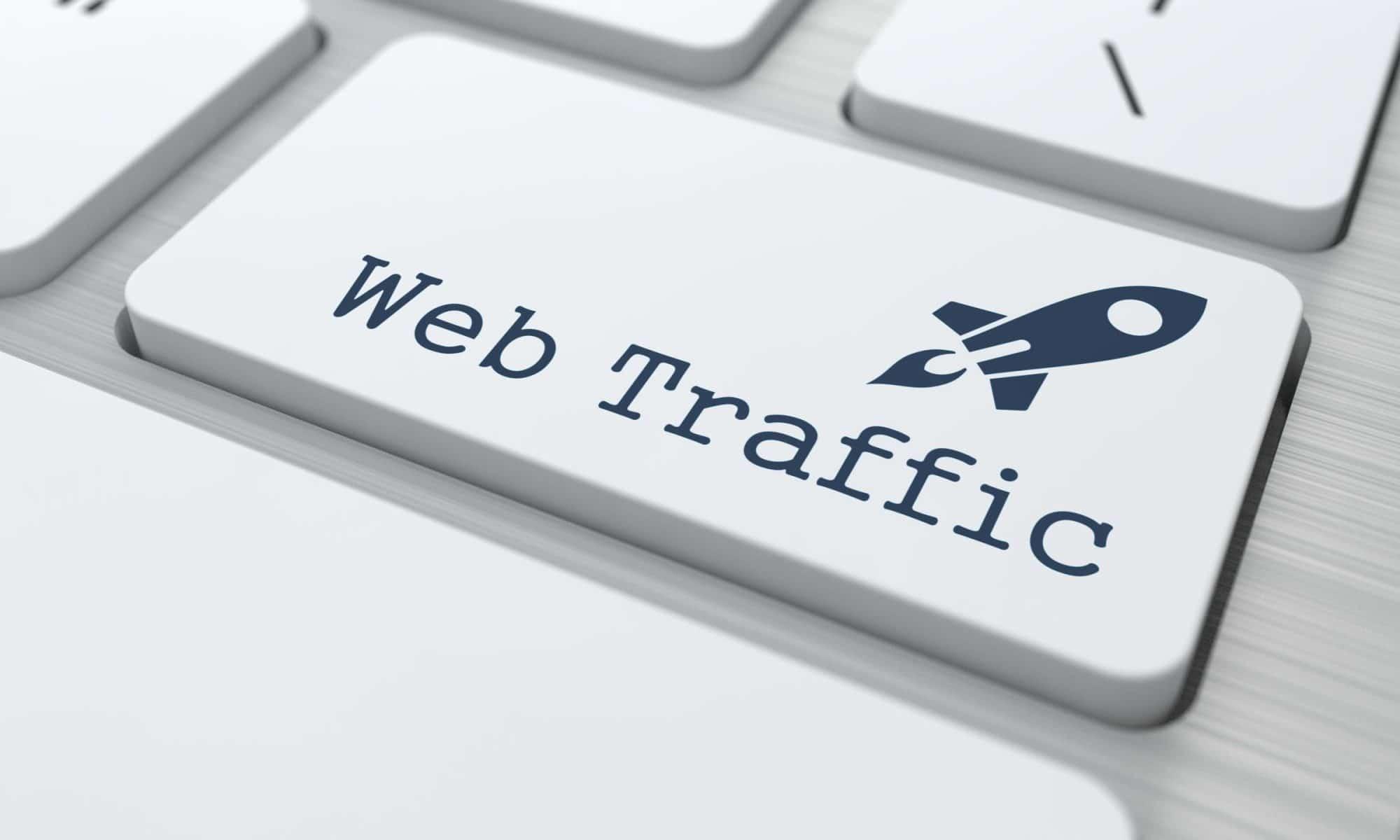 زيادة حركة مرور الويب